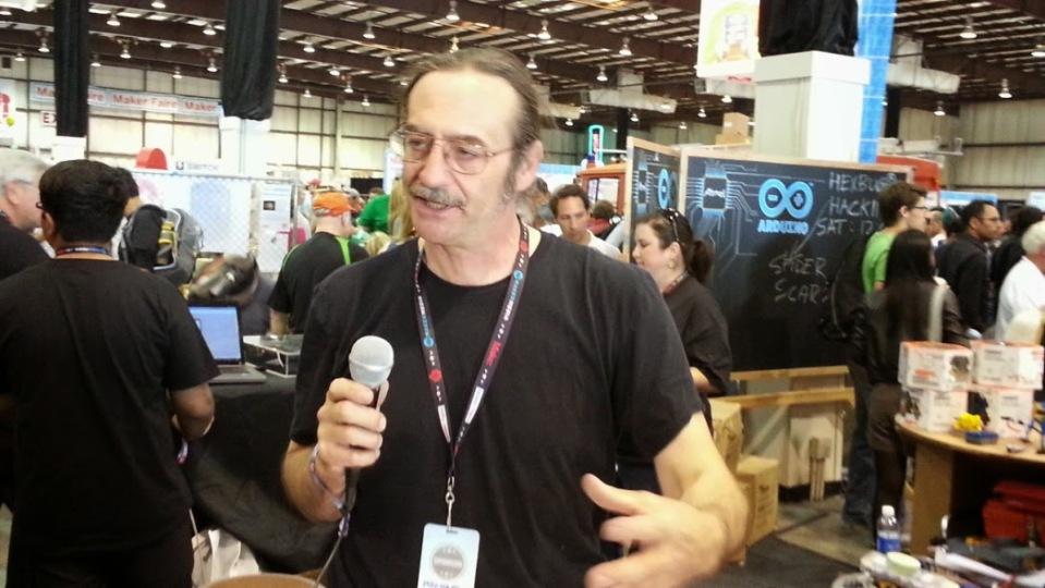 michael-koster-Maker-Faire-2013-SanMateo-Atmel-Maker-Movement