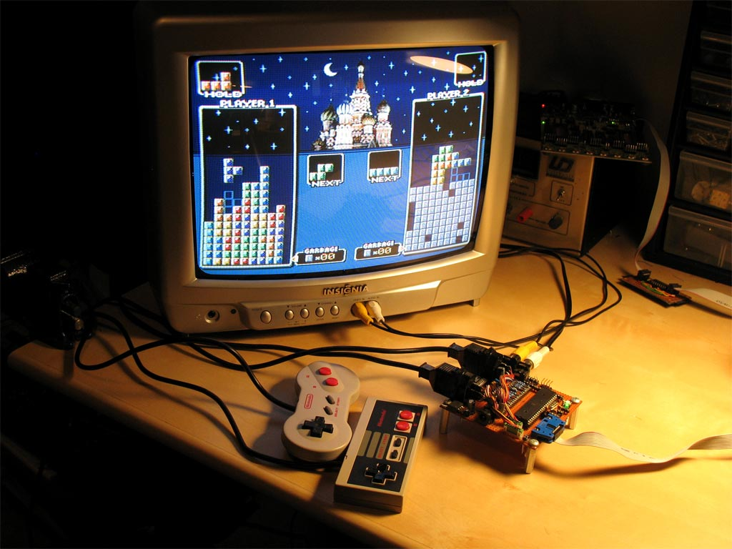Uzebox is an open-source retro gaming console | Atmel | Bits