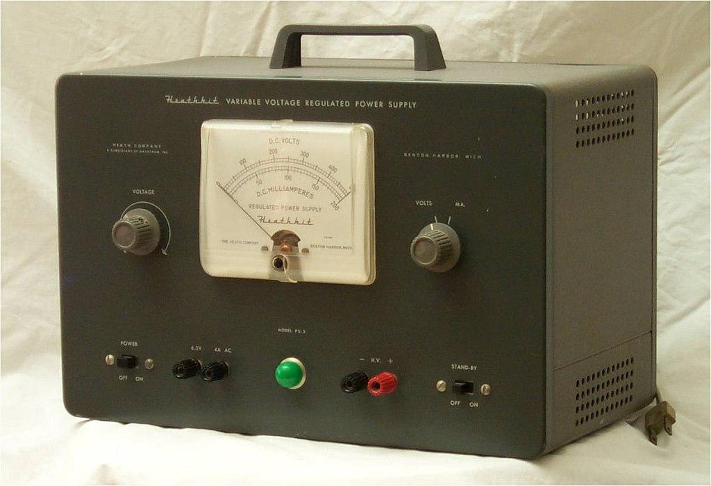 The 1955 Heathkit 500V PS-3 power supply   Atmel   Bits & Pieces