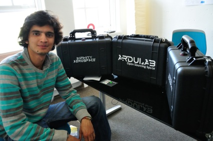 Interview With :    Manu Sharma, Creator of Ardulab and Co-Founder of Infinity Aerospace