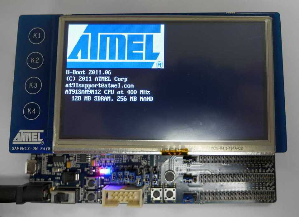 SAM9N12-EK_boot-screen