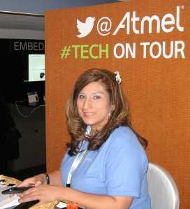 EELive!-2014_Atmel-Tech-on-Tour_Michele-Zamora