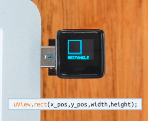 MicroView from Kickstarter Funded Project  Demonstrating Agile Development with OLED Interface