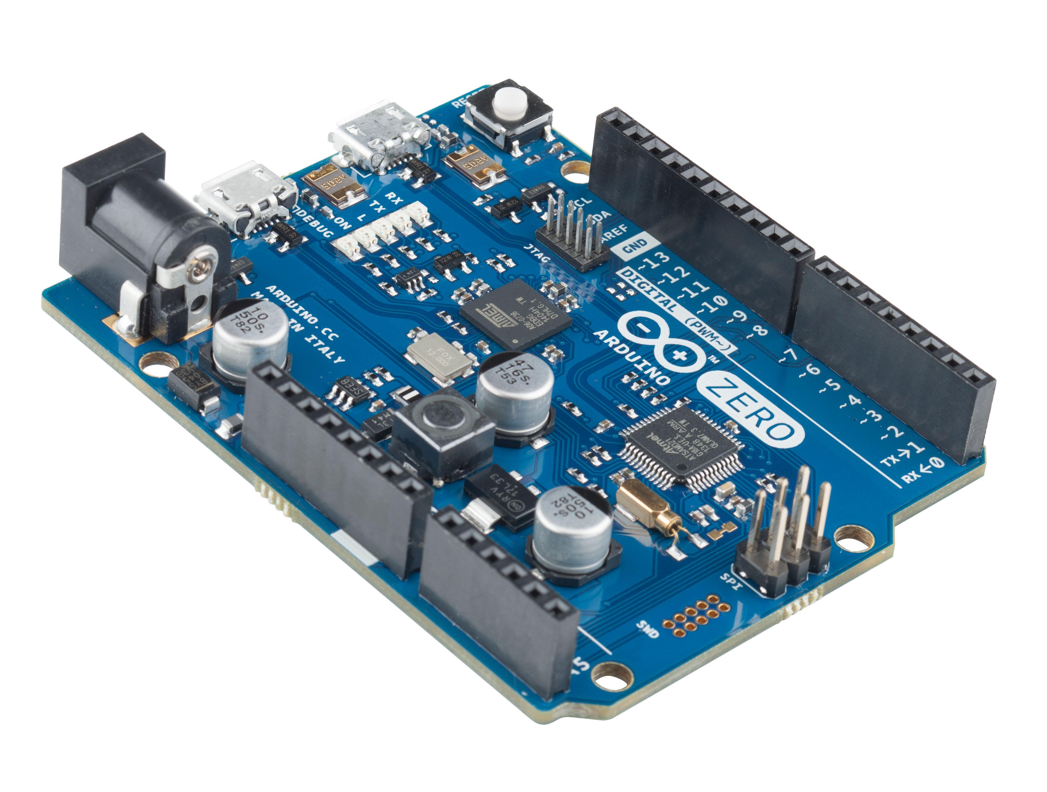 Arduino and atmel debut zero dev board bits pieces