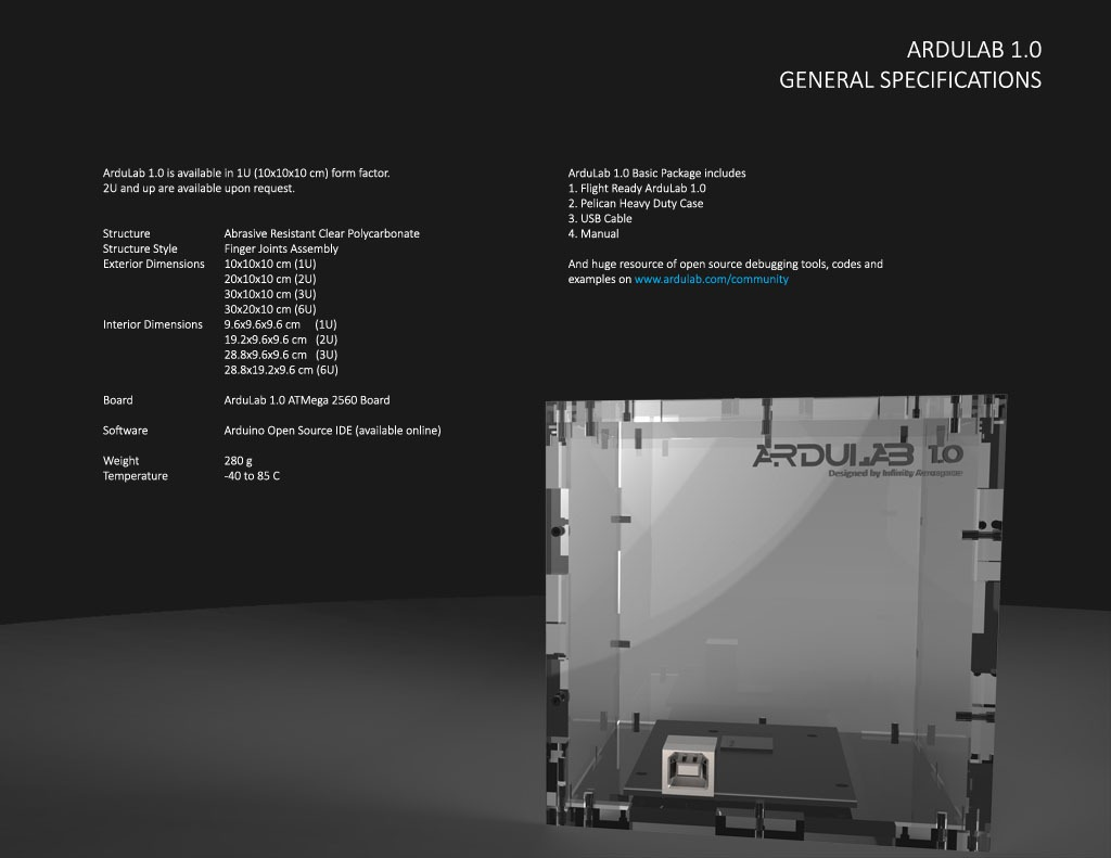 Infinity Aerospace | Atmel | Bits & Pieces