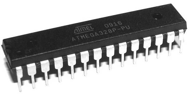 Atmel's ATMEGA328P-PU an AVR 8-bit processor