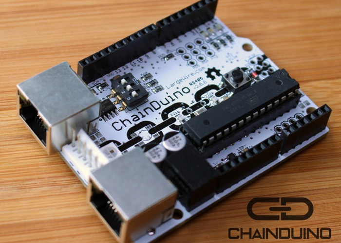 Connecting multiple boards together with chainduino