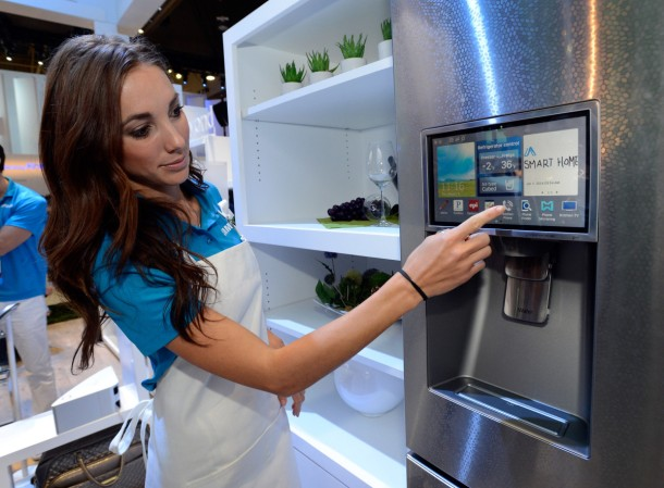 (Source CES 2014 - Samsung's Vision of the Now and Future of Connected Appliances)