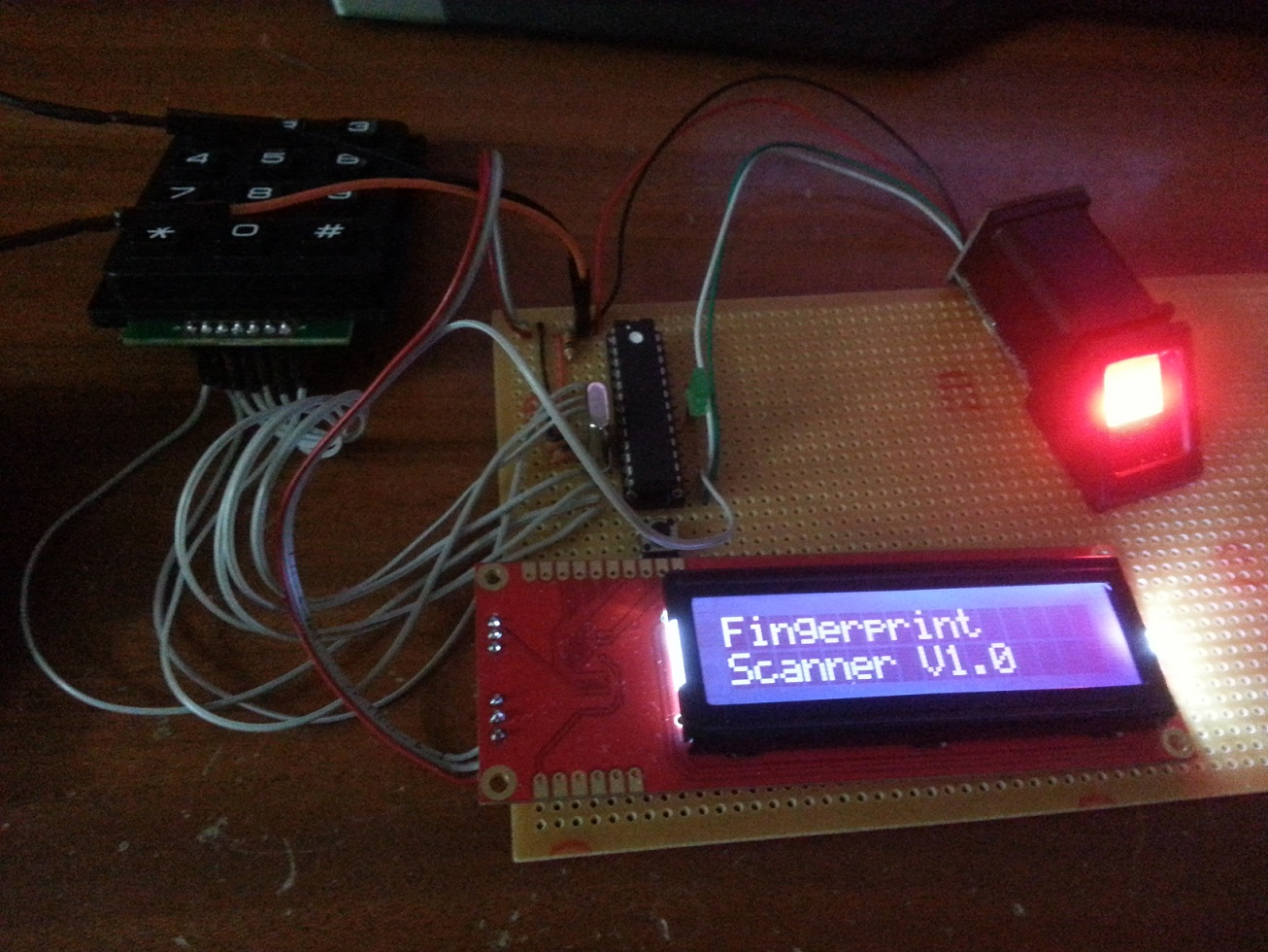 Fingerprint Vehicle Starter Project Using Arduino