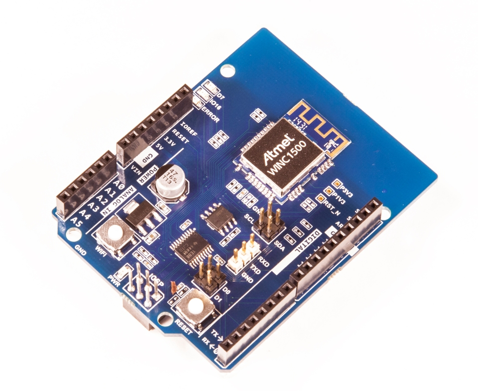 Arduino and atmel launch the wi fi shield