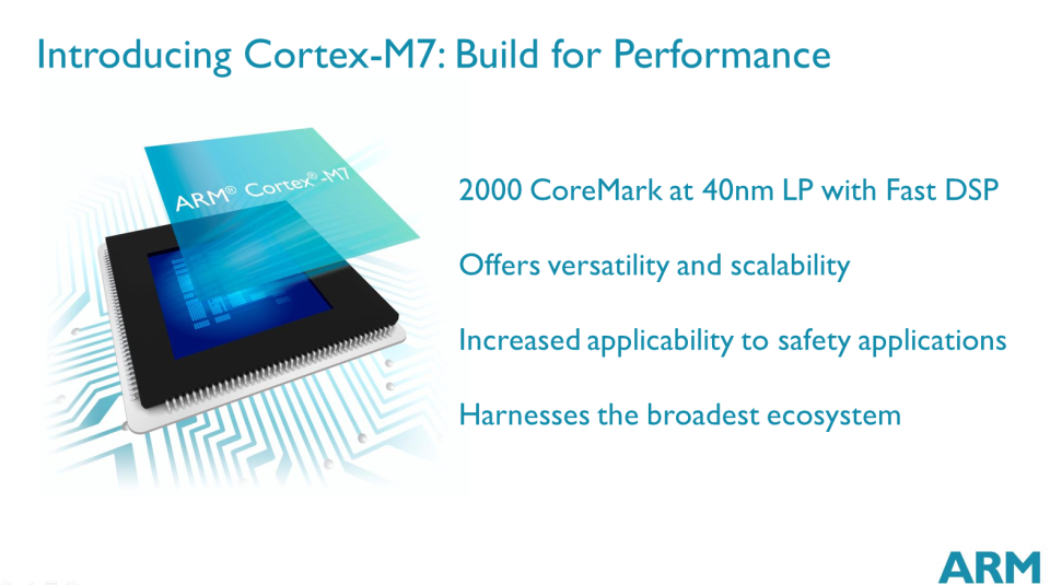Cortex-M7 summary