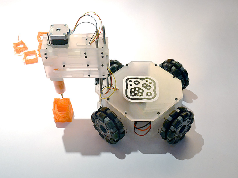 image about 3d Printable Robot referred to as 3Dbot is the worlds initial autonomous 3D printing robotic