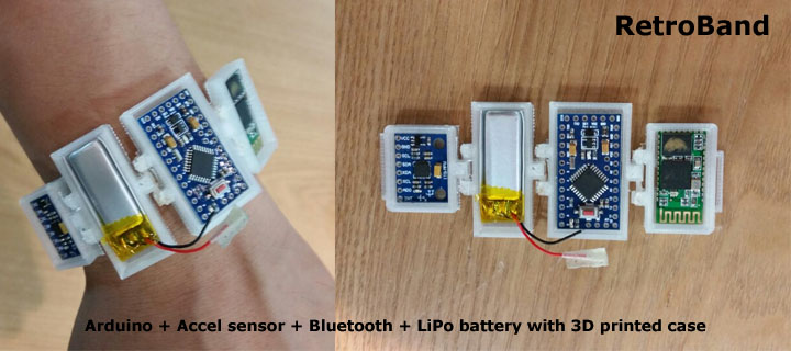 Build your own activity monitor with arduino atmel