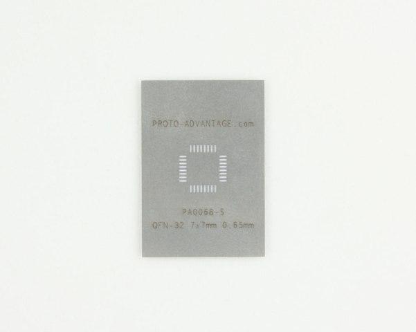 Solder-stencil_QFN-32_Proto-Advantage