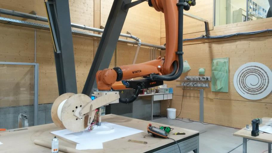 This Robot May Soon 3d Print Objects As Large As 100 Cubic