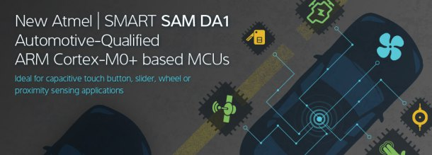 SAM DA1 | Atmel | Bits & Pieces