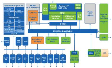 SAM S70 Block diagram