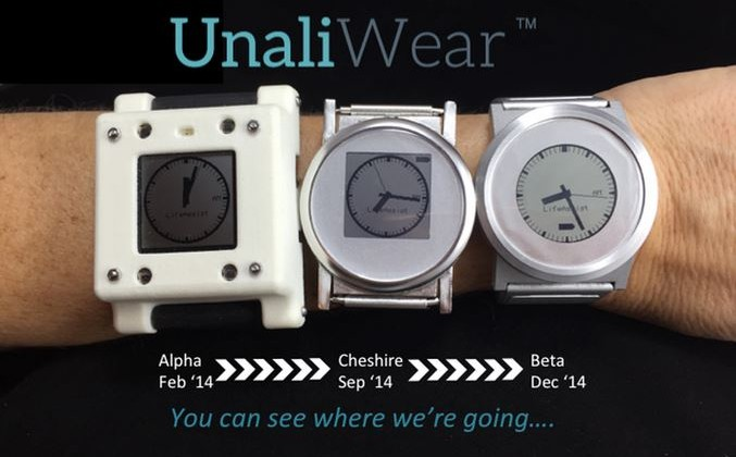 unaliwear-prototype-progression