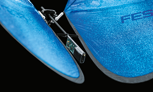 Each butterfly is autonomous, using independently controllable wings to fly preprogrammed routes. (Source: Festo)