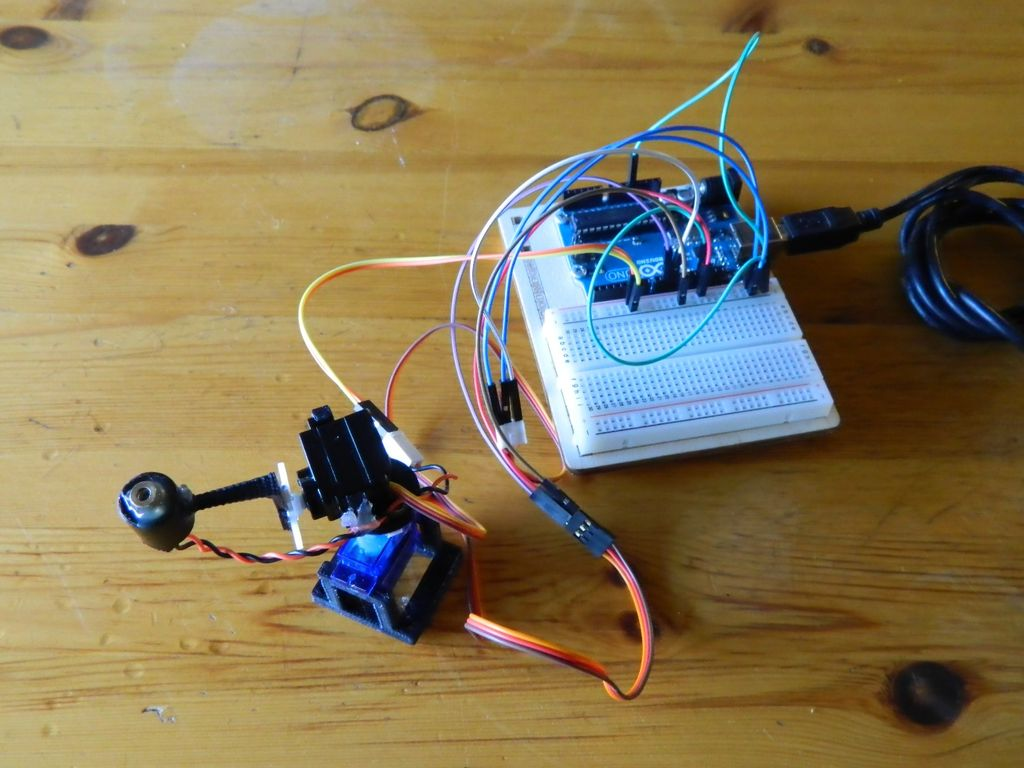 Creating a d printed arduino based laser robot for your