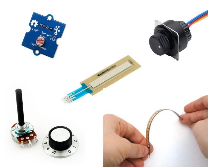 Sensor-DIY-types