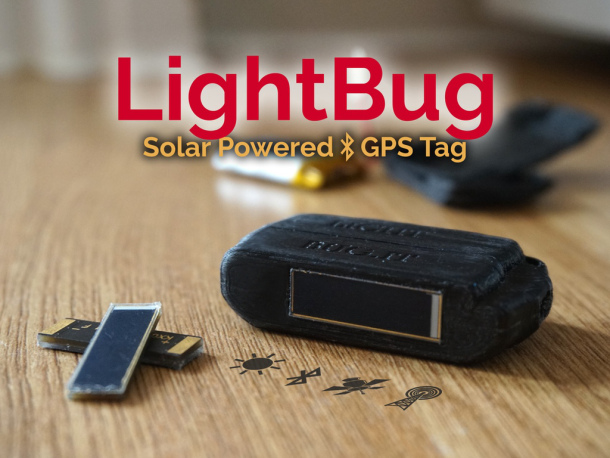 LightBug is a solar-powered GPS tracker | IT Eco Map & News Navigator