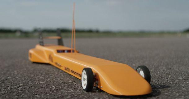 This 3D-printed RC car can go 100mph