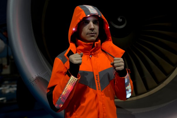 EASYJET 20th ANNIVERSARY NEW FUTURE TECH SUITS UNVEILED