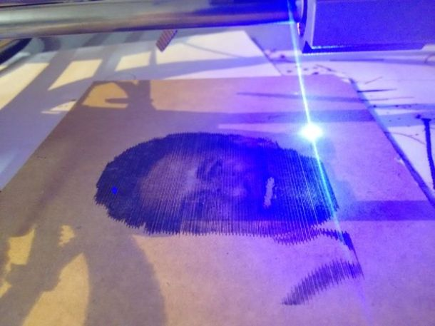 Chalkaat is an augmented reality-based laser cutter