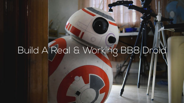 Maker creates his own life-sized BB-8